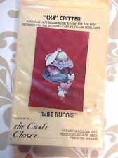 BeBe Bunnie 4 x 4 Critter Craft Pattern 1989