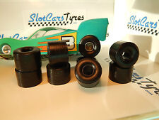 8 urethane tires for slot Parma Flexi 1/24 (1 '') - Au