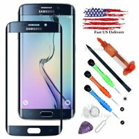 For Samsung Galaxy S6 Edge Touch Screen Replacement Front Glass Lens Tools Kits