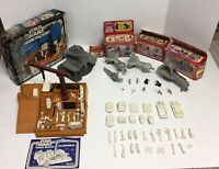 Vintage Star Wars Collection! Droid Factory Besbin Gantry & control Room & More!