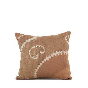 "15"" x 16"" Pillow Cover Suzani Pillow Cover Vintage FAST Shipment With UPS 09617"