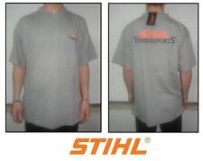 T-shirt V motosega sweatshirt woodman motorsage STIHL TIMBERSPORTS grigio grey M