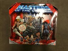 2002 Masters of the Universe He-Man vs Skeletor Mattel w/comic, NEW never opened