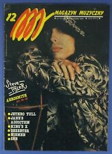 AEROSMITH Jethro Tull,King's X,Niemen,Jane's Addiction,David Bowie,Jon Bon Jovi