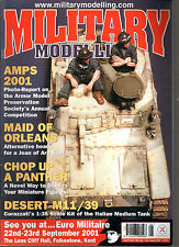 MILITARY MODELLING VOL 31 N°8/2001 AMPS 2001 DESERT M11/39 MAID OF ORLEANS