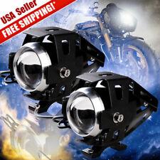 2x 250W Motorcycle fog lights led driving lights spot lights waterproof