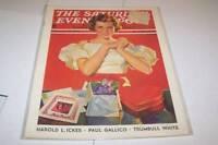 FEB 16 1935 SATURDAY EVENING POST magazine VALENTINE
