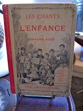 LES CHANTS DE L'ENFANCE