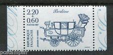 FRANCE, 1987, timbre 2469, JOURNEE TIMBRE de carnet, VOITURE, BERLINE, neuf**