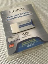 Sony Memory Stick Duo Adaptor MSAC-M2 New Sealed Packaging