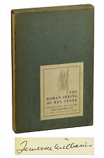 The Roman Spring of Mrs Stone TENNESSEE WILLIAMS ~ SIGNED First Edition 1950 1st