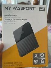 MY PASSPORT 2TB PORTABLE HARD DRIVE WD WITH OVER 1800 DVDS IN HIGH DEF