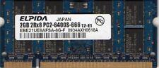 New 2GB Fujitsu LifeBook A/B/E/N/P/S/T/V Series DDR2 Laptop/Notebook RAM Memory