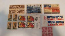 Lot of 28 USA Stamps The Boston Tea Party National Parks Centennial Colonial