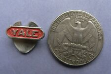 Very old buttonhole  lapel pin  of     YALE      60-s   <L>