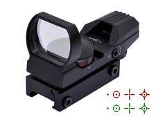 Ohuhu Field Sport Red and Green Reflex Sight w/4 Reticles Pistol Hand Gun Target