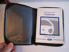 1999 FORD EXPLORER CAR OWNER'S MANUAL - TUB D