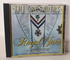 The Crusaders and B. B. King Royal  Jam Cd Come Nuovo Incisione GRP Eccellente