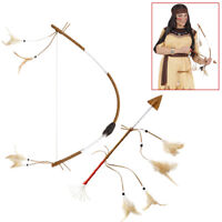 WIM 98781 Fasching Karneval Damen Kostüm Bogenschütze Pfeil Bogen Mittelalter