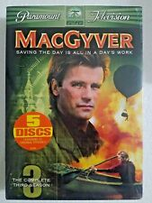 MacGyver - The Complete Third Season 3 (Dvd 5-Disc Set New Sealed)