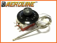 AeroLine Adjustable Electric Car Fan Thermostat Universal Fitting