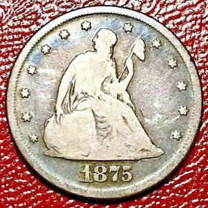1875 TWENTY CENT PIECE