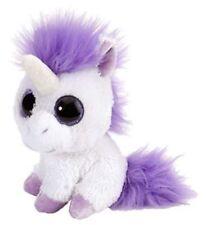 Licorne violet 13 cm Lil sucré & Sassy animaux en peluche avec grands yeux,
