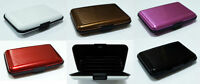 Waterproof Business/ID/Credit Card/Wallet Holder Aluminium Metal Pocket Case UK