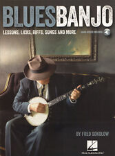 Fred Sokolow Blues Banjo - Lessons Licks Riffs .. Noten Songbook m Download Code