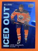 2019-20 Upper Deck Allure Iced Out #IO-LD Leon Draisaitl Edmonton Oilers