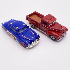 Disney Pixar Cars Diecast Lot 1:55 Hudson Hornet Lenticular Heyday Smokey