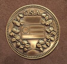 CSA 1861-865 Confederate States of America Challenge Coin
