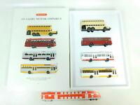 BT307-1# Wiking H0/1:87 990 05 Set 100 Jahre Omnibusse Mercedes/MB, NEUW+OVP