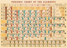 Periodic Chart - Table - Poster Cavallini & Co 20 x 28 Wrap