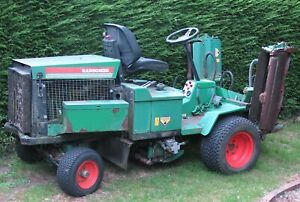 Ransomes 213D  triple cylinder mower in working condition.