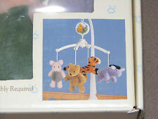 CLASSIC WINNIE THE POOH DELUXE MUSICAL MOBILE BABY NURSERY DECOR TIGGER EEYORE