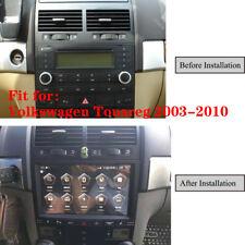 For Touareg 2003-2010 Car GPS Radio Stereo Headunit Autoradio Android navigation