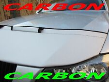 Silber Carbon BRA Skoda Fabia II Bj. 07-14 Steinschlagschutz Haubenbra Tuning