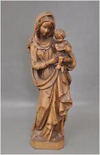 Madonna mit Kind - Grödner Holzschnitzerei - G. Perathoner Meran