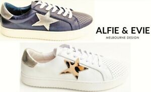 New Sneakers Alfie and Evie leather fashion comfort sneakers Alfie & Evie Valdo