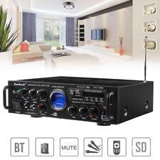 VU Meter 500W 2 Ch Bluetooth Digital Stereo HIFI Home Power Audio Amplifier AMP