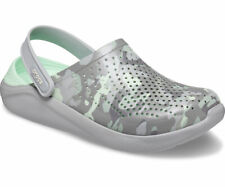Crocs LiteRide Printed Camo Clogs Womens Lightweight Padded Camouflage Sandals