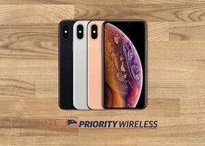 Apple iPhone XS A1920 64/256/512GB AT&T T-Mobile Verizon Sprint Unlocked Good