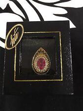 ONE of a Kind RARE Vintage Fine Art Gallery ERTE Claire de Lune Ring $2,500