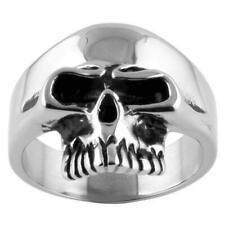 K-Rock: Keith Richards 316L Stainless Steel Rocker Skull Ring Replica