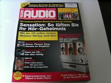 Audio Zeitschrift 01/2006,  Zeitschrift ohne CD !!!