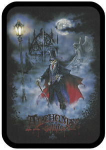 "Large Black Tobacco Tin with ""Alchemy Gothic 3"" Design 2104L - Free UK P&P"