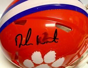 Clemson Tigers Deshaun Watson Signed Mini Helmet Fanatics Hologram