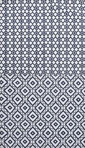 6x8 Geometric Modern Wool/ Silk Oriental Area Rug Hand-tufted Home Decor Carpet