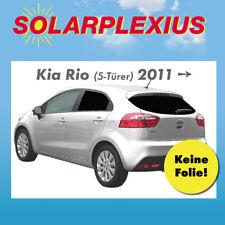 Auto Sonnenschutz Scheiben-Tönung-tönen Sichtschutz KIA RIO 5-Tür Bj 11-16